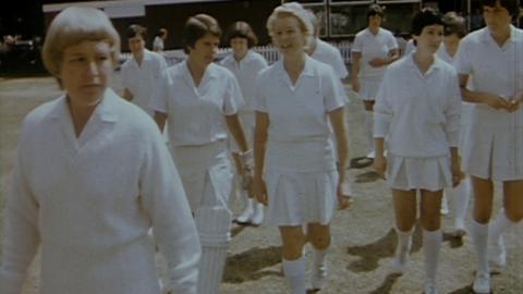 Australia v East Anglia Women's Cricket