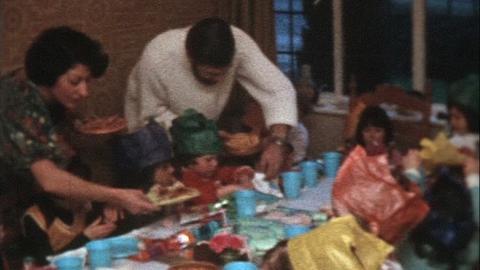 Watts Family Films: Karen's Fourth Birthday, Epsom (1977)
