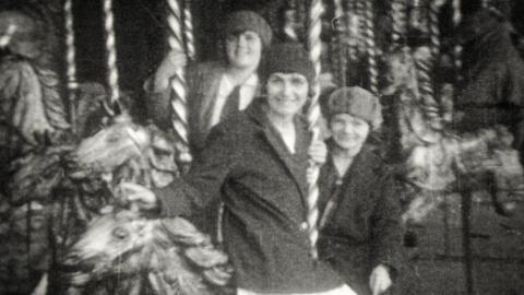 Barnstaple Fair in the 1920s