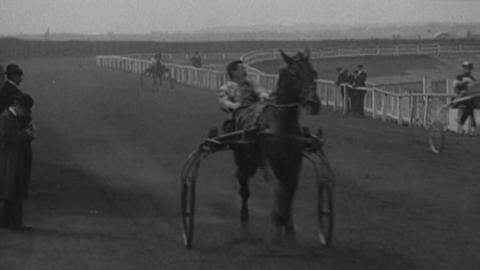 Trotting Match at Springfield Park, Wigan (1904)