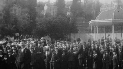 Sports Day at Queen's College Ground, Cork (1902)