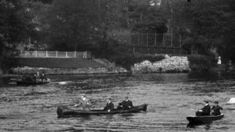 Two-Oared Boat Race, Sunday's Well, Cork (1902)